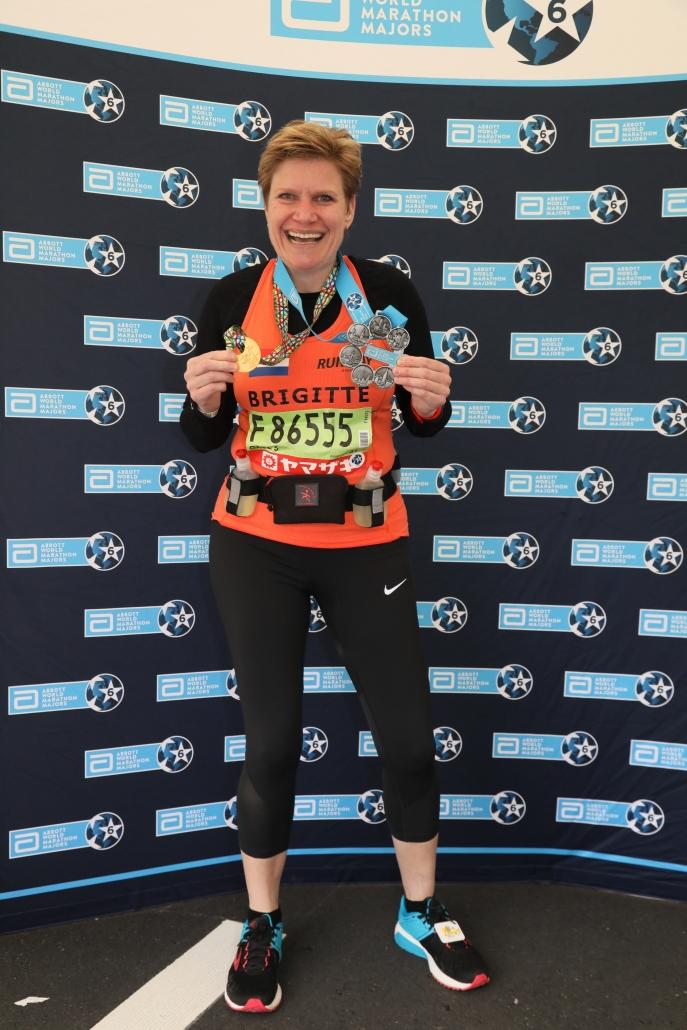 Brigitte van der Pluijm Marathon Tokyo 2018